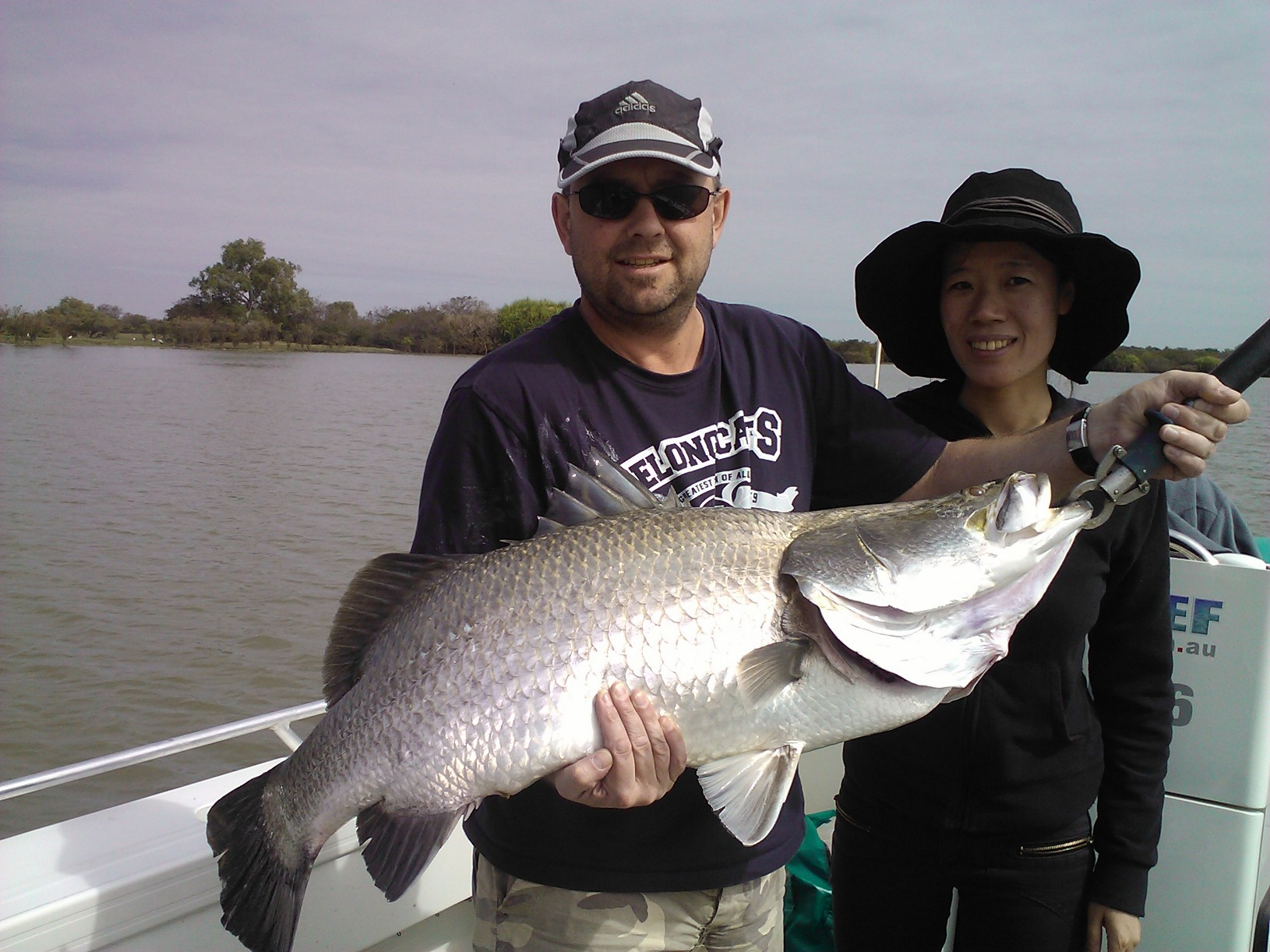 98cm 15kg Corroboree Billabong Barra for Peter Huf from China